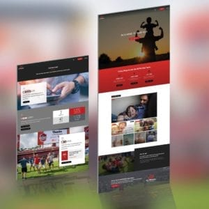 All Pro Dad website design mockup by Tyler Thompson