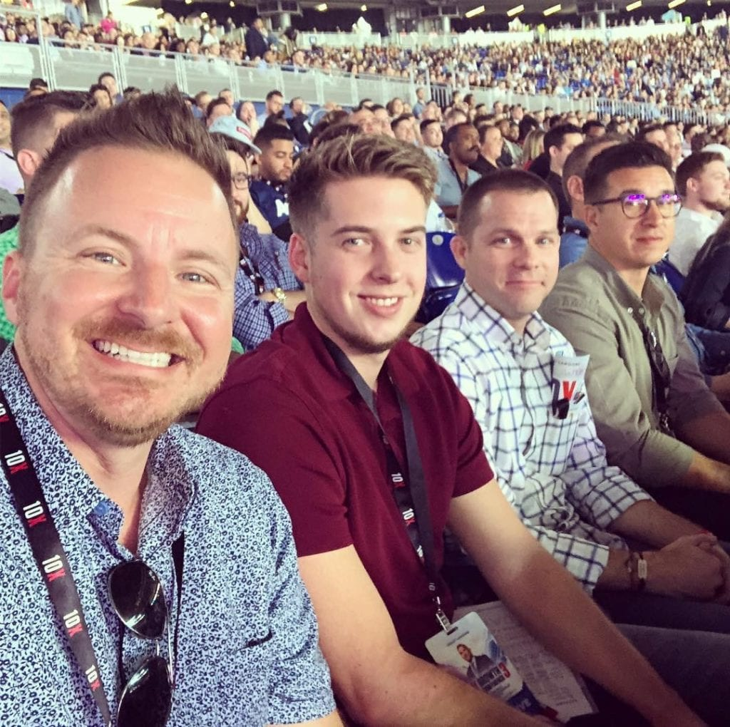Jay Owen and Tyler Thompson at 10x Growth Conference